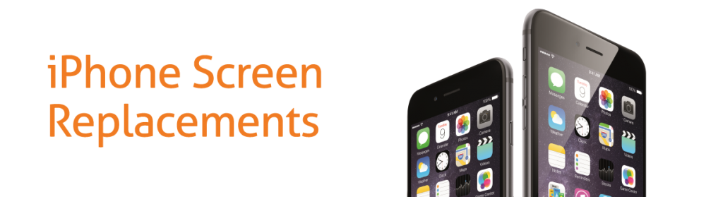 iPhone screen replacements header