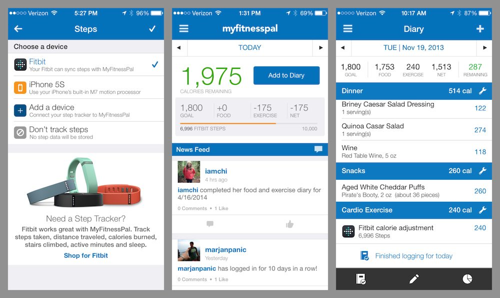 http://blog.myfitnesspal.com/now-you-can-track-your-steps-in-myfitnesspal/