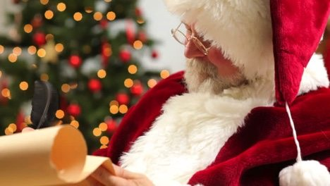 http://www.shutterstock.com/video/clip-4655495-stock-footage-closeup-of-santa-claus-writing-christmas-list-on-scroll.html